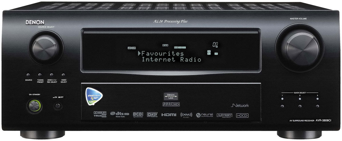 Streaming music from Windows Home Server to the Denon AVR3808CI/4808CI
