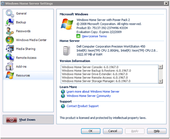 windows home server power pack 2  free