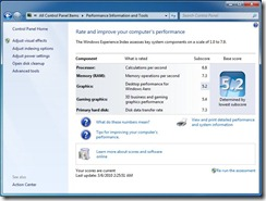 Windows Index HTPC
