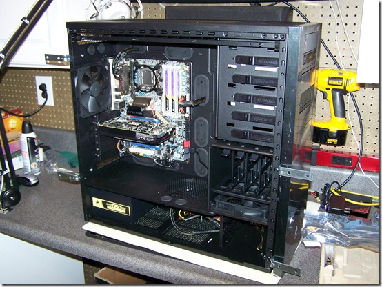 Corsair 700D Case with X58 Motherboard