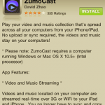 Stream Media from WHS To Your iOS Device with ZumoCast