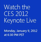 Watch the CES 2012 Keynote tonight!