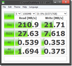 Storage Spaces Performance-Windows 8