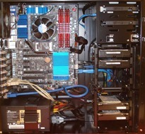 A Server Build with a GA-Z77X-UD5H in a Lian-Li PC-K9WX–Part 2