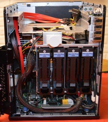 HP ProLiant N54L G7 MicroServer &#8212; First Look