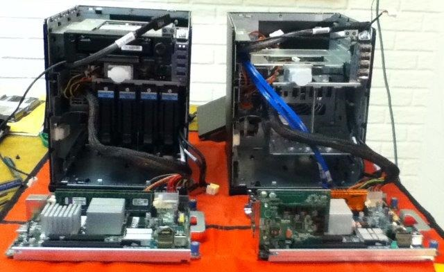 Performance Comparison of Windows Home Server 2011 on the HP ProLiant N40L MicroServer & HP ProLiant N54L G7 MicroServer