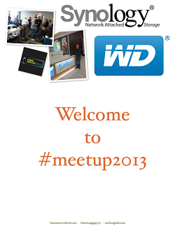 This is #meetup2013