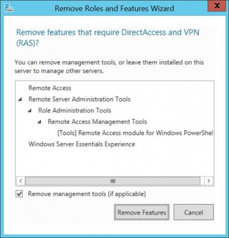 Routing and Remote Access Service wont start Server 2012 R2