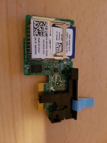 Dell PCIe dual SD Card module - Buy and Sell - RESET Forums