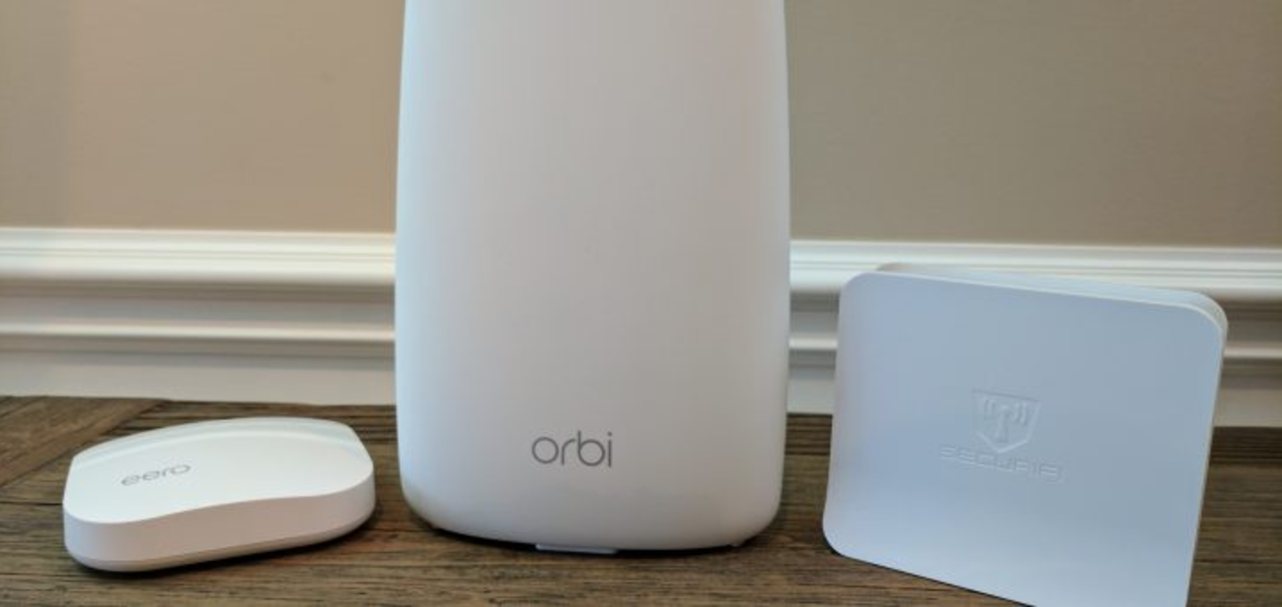 Speed Tests of Eero, Orbi, and Almond 3