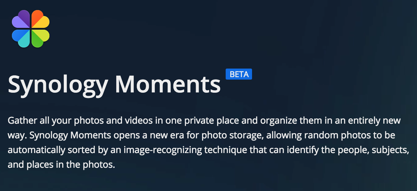 Synology announces Moments Photo Organizer