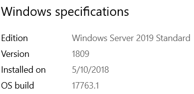 Windows Server 2019 on Gen8 microserver - Microserver Gen 8 - RESET